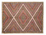 Kilim semi antique Turkish carpet XCGZK489