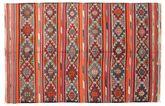 Kilim semi antique Turkish carpet XCGZK467