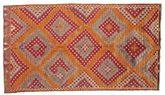 Kilim semi antique Turkish carpet XCGZK458