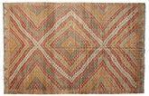 Kilim semi antique Turkish carpet XCGZK454