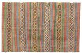Kilim semi antique Turkish carpet XCGZK447