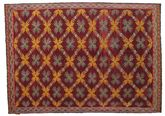 Kilim semi antique Turkish carpet XCGZK443