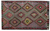 Kilim semi antique Turkish carpet XCGZK439
