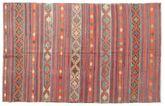 Kilim semi antique Turkish carpet XCGZK1065