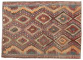 Kilim semi antique Turkish carpet XCGZK1058