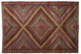 Kilim semi antique Turkish carpet XCGZK1054