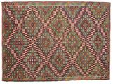 Kilim semi antique Turkish carpet XCGZK1040