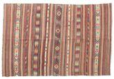 Kilim semi antique Turkish carpet XCGZK1039