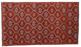 Kilim semi antique Turkish carpet XCGZK434