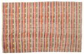 Kilim semi antique Turkish carpet XCGZK423