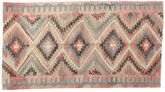 Kilim semi antique Turkish carpet XCGZK403