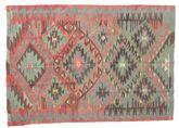 Kilim semi antique Turkish carpet XCGZK400