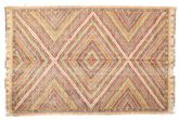 Kilim semi antique Turkish carpet XCGZK383
