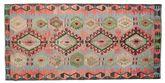 Kilim semi antique Turkish carpet XCGZK380