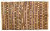Kilim semi antique Turkish carpet XCGZK372