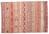 Kilim semi antique Turkish carpet XCGZK358