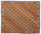 Kilim semi antique Turkish carpet XCGZK354
