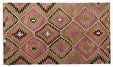 Kilim semi antique Turkish carpet XCGZK345