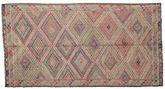 Kilim semi antique Turkish carpet XCGZK342
