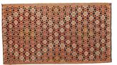 Kilim semi antique Turkish carpet XCGZK331