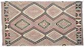 Kilim semi antique Turkish carpet XCGZK762