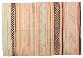 Kilim semi antique Turkish carpet XCGZK756