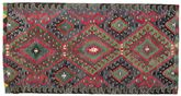 Kilim semi antique Turkish carpet XCGZK740