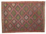 Kilim semi antique Turkish carpet XCGZK739