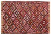 Kilim semi antique Turkish carpet XCGZK730