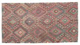 Kilim semi antique Turkish carpet XCGZK729