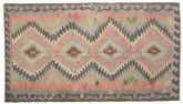 Kilim semi antique Turkish carpet XCGZK727
