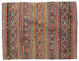 Kilim semi antique Turkish carpet XCGZK711