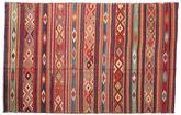 Kilim semi antique Turkish carpet XCGZK701