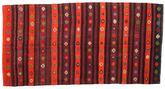 Kilim semi antique Turkish carpet XCGZK678