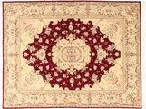 Tabriz 50 Raj med silke teppe MIF267