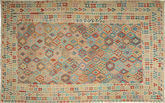 Alfombra Kilim Afghan Old style ABCT483
