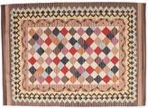 Kilim Caspian - Brown carpet CVD14805