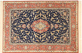 Isfahan silk warp carpet AHCA108