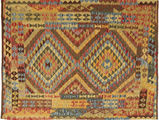 Kilim Afghan Old style carpet AXVQ771