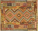 Kilim Afghan Old style carpet AXVQ800