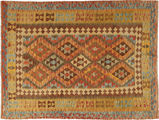 Kilim Afghan Old style carpet AXVQ830