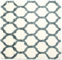 Berber Shaggy Illusia - Green rug CVD16117