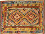 Alfombra Kilim Afghan Old style AXVQ789