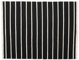 Dhurrie Stripe - Black / White carpet CVD16448