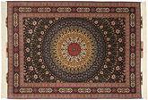 Tabriz#60 Raj silk warp Sighnet : Saii carpet AXVZC1019