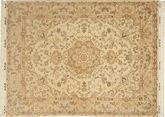 Tabriz#60 Raj silk warp carpet AXVZC1121