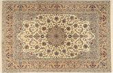 Isfahan silk warp carpet AXVZC619