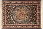 Tabriz#60 Raj 絹の縦糸 絨毯 AXVZC1029