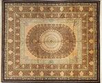 Qum silk Signed: Jamshidi carpet AXVZC466