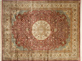 Kashmir pure silk carpet AXVZC103
